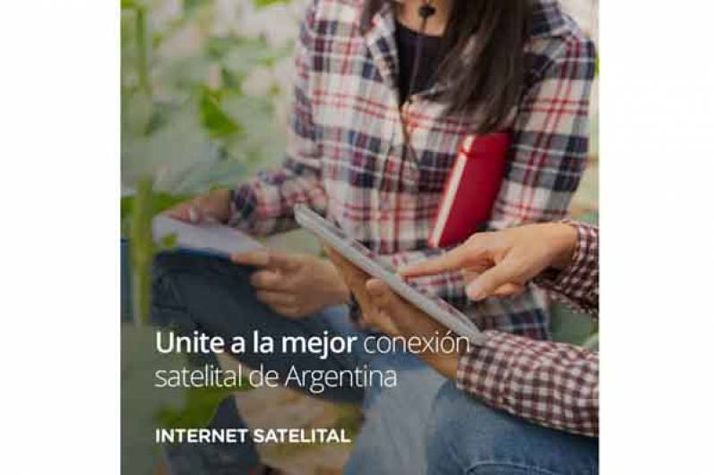 ORBITH: disponibilidad real de Internet Satelital