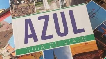 """Presentan en la ciudad de Azul """"Azul, Guía de viaje"""""""