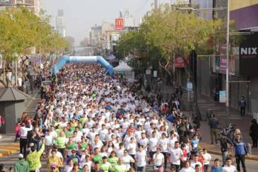 """Más de 4 mil personas participaron de la Maratón """"San Miguel Arcángel"""""""