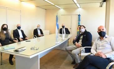 Alak se reunió con funcionarios del Ministerio de Justicia y DDHH de Nación