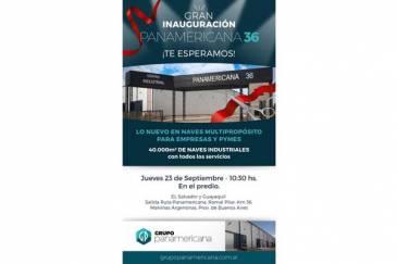 Inauguración de Panamericana 36, un nuevo Centro Industrial lindero al DirecTV Arenas de Tortuguitas