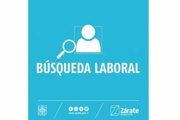 El Municipio de Zárate abrió una nueva búsqueda laboral