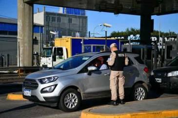 Ariel Sujarchuk, junto a los ministros Wado de Pedro y Sabina Frederic, supervisó un operativo conjunto de prevención y control vehicular en el partido de Escobar