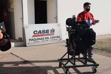 Case IH realizó una donación de motores para apoyar la educación de las futuras generaciones agrícolas