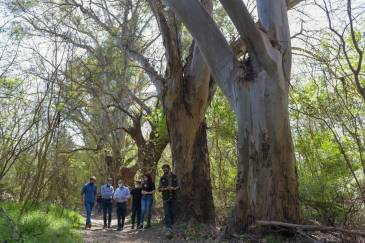 El Intendente recorrió con el Ministro Bonaerense de Infraestructura la Reserva Natural Urbana