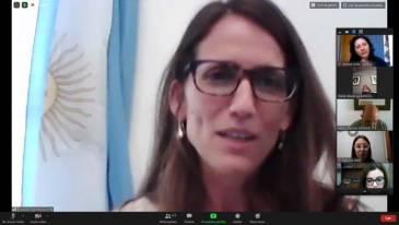 """Elizabeth Gómez Alcorta: """"hay que dejar de naturalizar el sistema social que genera opresiones"""""""