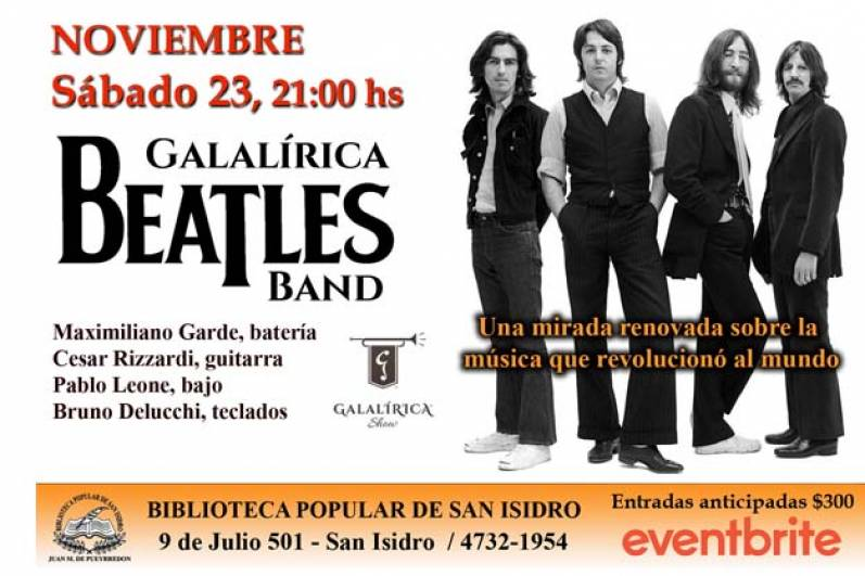 The Beatles en la Biblioteca