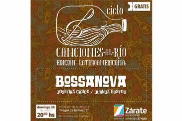 """Ciclo """"Canciones al Río"""": este domingo habrá música Bossanova"""