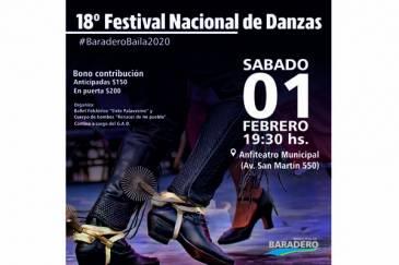 Febrero inicia con el 18° Festival Nacional de Danzas
