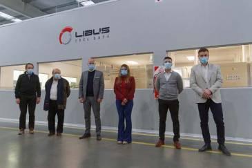 Libus recibió a Guillermo Merediz y a Juan José Mussi en su planta modelo de Berazategui