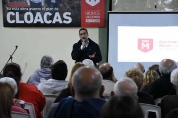 Plan 100% Cloacas: reunión informativa por obras en Barrio San Juan