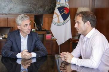 Reunión de trabajo entre el Intendente y el ministro de Transporte de la Nación