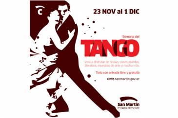 Se viene una nueva Semana del Tango en San Martín