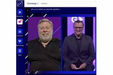 Globant anunció el futuro del desarrollo software durante su evento Converge con Steve Wozniak