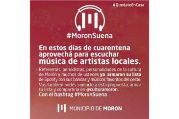 #MoronSuena : La iniciativa de Municipio de Morón para difundir artistas locales durante la cuarentena