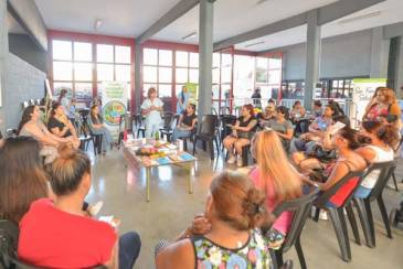 Entrega de Tarjetas Alimentarias en San Fernando